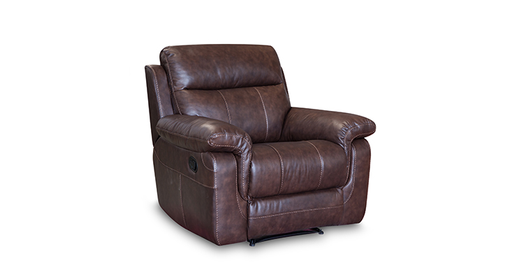 Modern living room furniture swivel glider recliner sofa