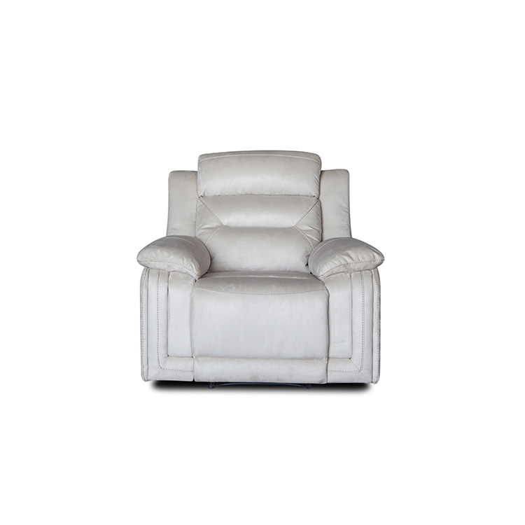 Simple modern Leisure Cloth furniture recliner sofa